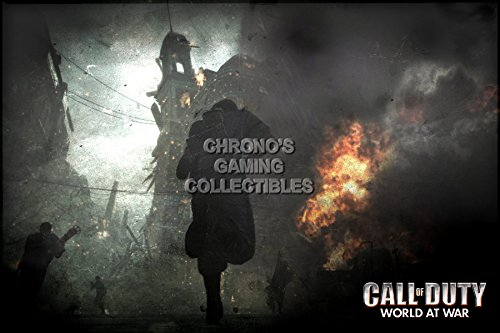 Call of Duty CGC Huge Poster Glossy Finish World at War COD PS3 PS4 Xbox 360 One - COD015 (24