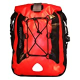 Overboard Waterproof Backpack 25 Liters in Red