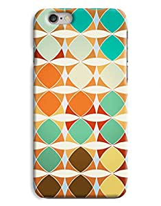 Colourful Abstract Shape Pattern iPhone 6 Case