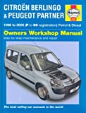 Citroen Berlingo and Peugeot Partner Petrol and Diesel Service and Repair Manual: 1996 to 2005 (Haynes Service and Repair Manuals)