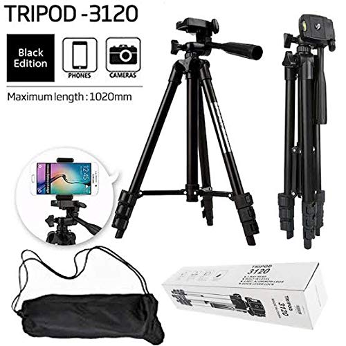 Buy Samyu Tripod 3120A Foldable Tripod for Smart Phones, Digital Camera, Camcorder. Best for TIK Tok Musically Video Shooting and Time-Lapse Video Recording Online at Low Price in India | Samyu Camera
