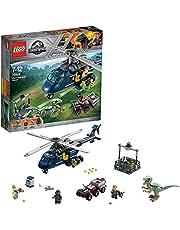 LEGO Jurassic World - Persecución en helicóptero de Blue (75928)