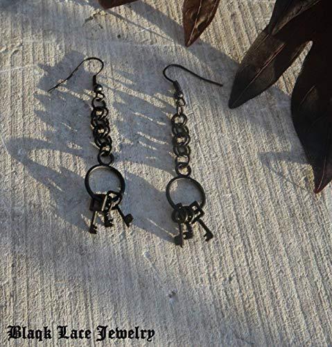 Jailer's Keys Earrings ()