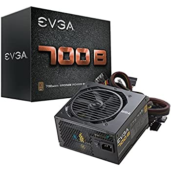 EVGA 700 B1, 80+ Bronze 700W, 3 Year Warranty, Power Supply 100-B1-0700-K1