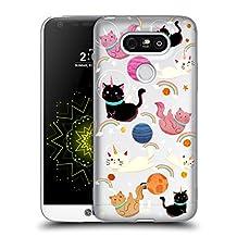 Head Case Designs Cat Space Unicorns Soft Gel Case for LG G4 / H815 / H810