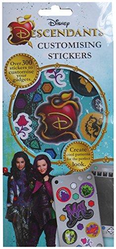 Disneys Descendants Customising Stickers Sheets