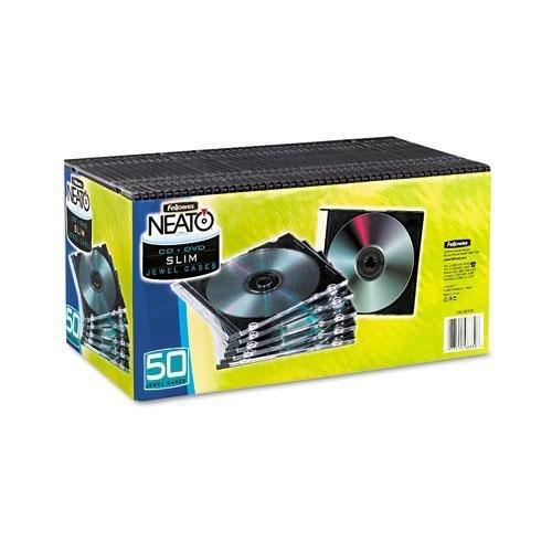 FEL98330 - Fellowes Slim CD/DVD Case ()