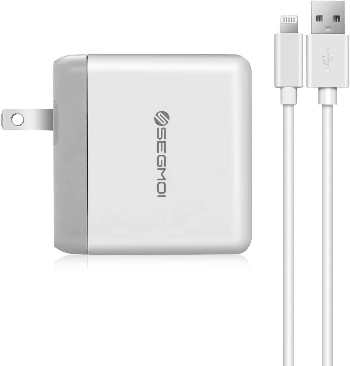 iPhone Charger with Wall Plug Apple Certified,10 Foot Lightning to USB Cable with 12W USB Power Adapter for iPhone 12 11 Pro Max X XS XR 8 Plus 7 6 5 SE iPad Air Mini