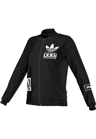 Adidas Trainingsjacke Women BRLN L Badge TT AB2679 Schwarz