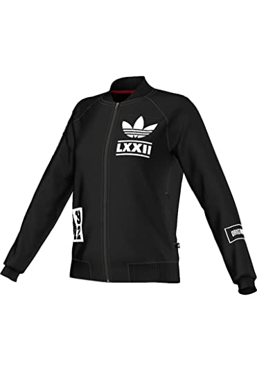 adidas Berlin L Badge TT - Sudadera para Mujer, Color Negro, Talla 38: Amazon.es: Zapatos y complementos