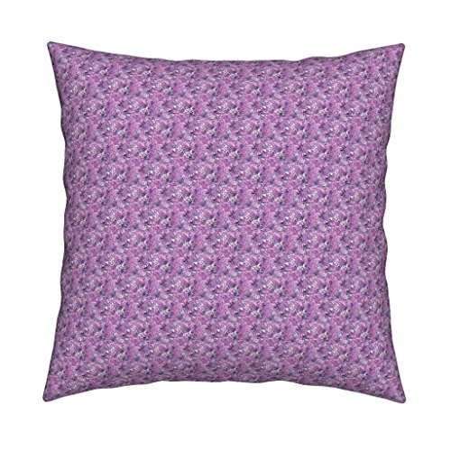 Roostery Monster Velvet Throw Pillow Cover Operetta Ditsy by Raccoons Rags Cover Only (Monster High Dolls Cost)