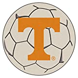 NCAA University of Tennessee Volunteers Soccer Ball Mat Round Area Rug
