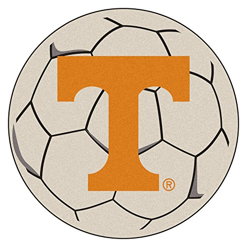 (NCAA University of Tennessee Volunteers Soccer Ball Mat Round Area Rug)