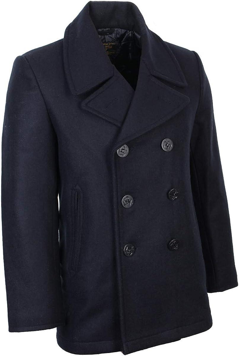 Giacca Uomo Mil-Tec Us Navy Pea Coat Tuch