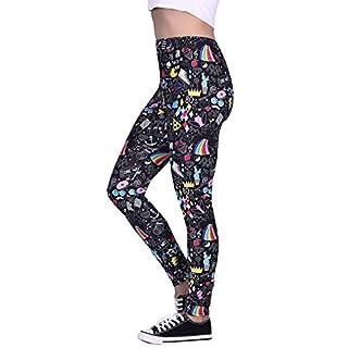 Women's Leggings Graphic Print Tights Fun Digital Design Holiday Elastic Pants,80s Retro,XX-Large