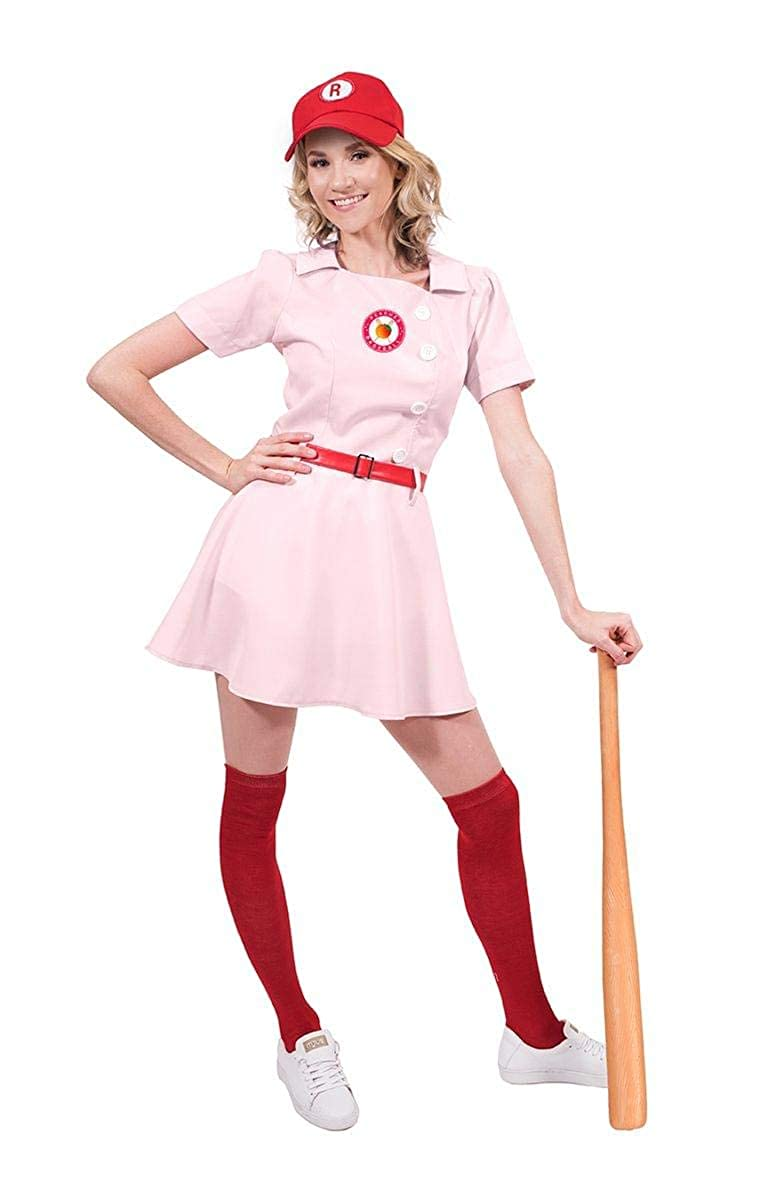 Rockford Peaches Baseball Uniform