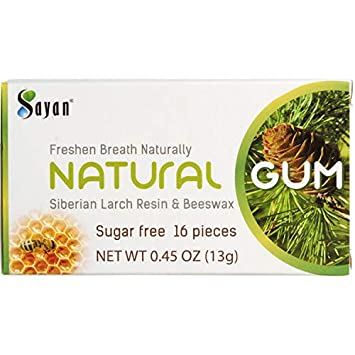 amazon com sayan sugar free all natural gum 6 packs 96 pieces