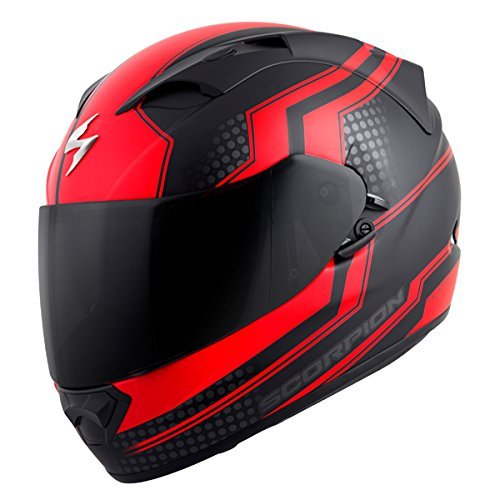 Scorpion EXO-T1200 Alias Street Motorcycle Helmet (Red, Large)