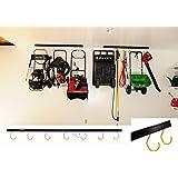 Amazon Com Cobra Storage Garage Door Rack 21 Inches
