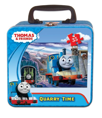 Ravensburger Thomas & Friends Quarry Time Puzzle in a Tin, 35 Piece Jigsaw Puzzle for Kids - Every Piece is Unique, Pieces Fit Together Perfectly