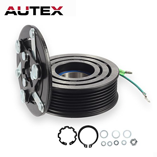AUTEX AC A/C Compressor Clutch Assembly Kit CO 10663AC 38810PNB006 38870PNB006 Replacement for 2002 2003 2004 2005 2006 HONDA - Replacement Ac Clutch