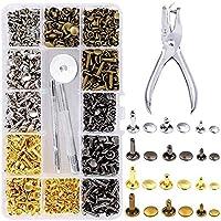 Aguja de costura de cuero 3pcs aguja de cord/ón de cuero de 2.1 pulgadas para la reparaci/ón de la gu/ía de cordones de cuero artesanal DIY