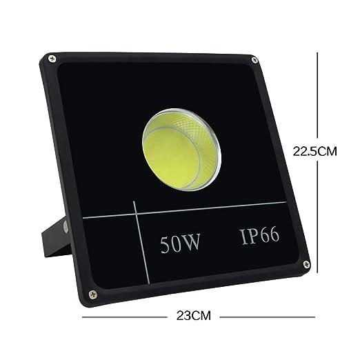 Xien Foco LED Proyector Luz De Inundación Luz De Seguridad ...