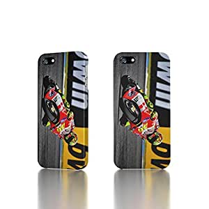 Apple iPhone 4 / 4S Case - The Best 3D Full Wrap iPhone Case - Valentino Rossi On Ducati Motorcycle
