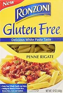 Ronzoni Gluten Free Penne Rigate Pasta (Case of 8)