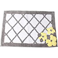 Saturday Knight P0759000850007 Spring Garden Rug, Gray