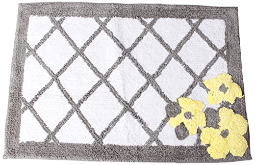 SKL HOME by Saturday Knight Ltd. Spring Garden Rug, Gray (Garden Bathroom Rugs)