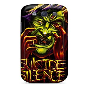 High Quality OYY2658PpTV Suicide Silence Tpu Case For Galaxy S3
