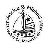 Best Family Boats - Personalized Custom 42mm Round Sailboat Sailor Nautical Fishing Review
