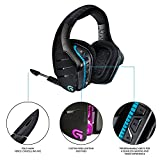 Logitech G933 Artemis Spectrum, Wireless RGB 7.1 Dolby and DTS Headphone Surround Sound Gaming Headset, White