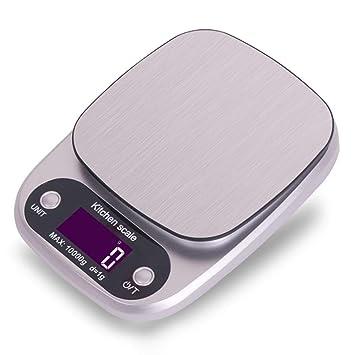 ZHANGYUGE Báscula de Cocina Digital Panadería Escala Escalas Materiales medicinales Báscula de Cocina electrónica Herramientas de