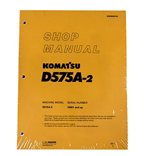 komatsu-d575a-2-bulldozer-workshop-repair-service-manual-part-number-sebd000105