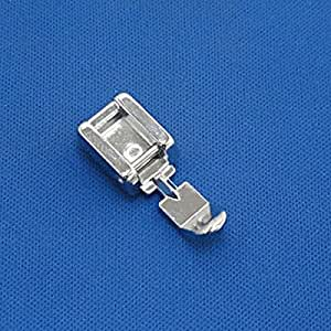 Kalevel Zipper Sewing Machine Foot Zipper Sewing Machine Presser Foot for Low Shank Snap on Singer Brother Babylock Janome Kenmore White Juki New Home Simplicity Elna Husqvarna Janome Bernina