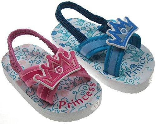 Soft Touch - Zapatos de tacón  para bebés, unisex Azul