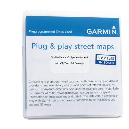 Garmin City Navigator 2018 Spain/Portugal microSD Card -