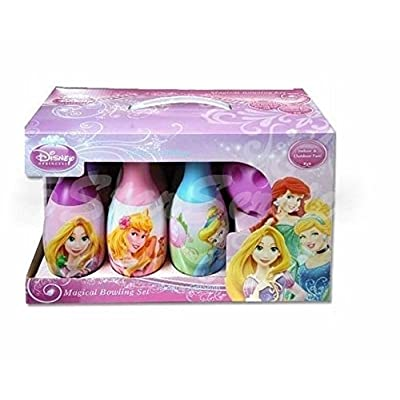 Brand New! Disney Princess Bowling Set - Girls Boys Kids Birthday Gift Toy 6 Pins & 1 Ball by 5StarService: Toys & Games