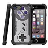 TurtleArmor | Compatible for Apple iPhone 7 Case | (4.7″) [Grip Combat] Defender Armor Hybrid Impact Shock Silicone Bumper Case Kickstand – Classic Game Controller Review