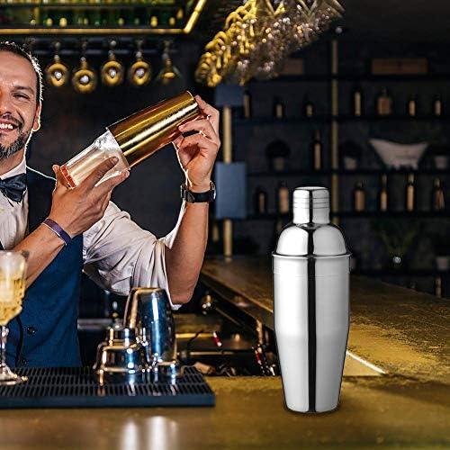 Sommer's Laden Edelstah Cocktailshake, 750ml Cocktail Bar Set Bar Zubehör Mixbecher, Cocktailset Groß, Cocktailshaker Cocktail Shaker Mixer Für Zuhause Bar
