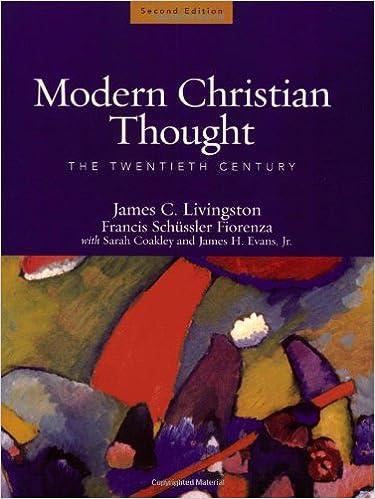 Amazon.com  Modern Christian Thought  The Twentieth Century ... 3cd0cc245e8bf