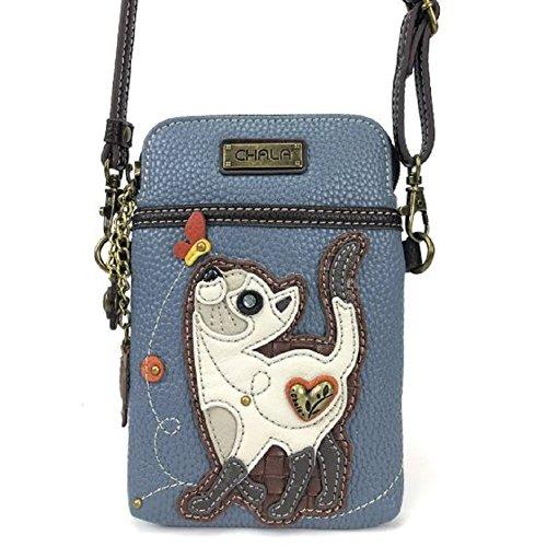 Phone Cat Kitten Mini Charming Purse Crossbody Bag Chala Playful Cell PqfXX47UW