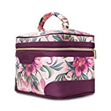 DRQ Large Makeup Bag-Multifunction Portable Toiletry Bag Cosmetic Makeup Pouch Case Organizer for Travel,Calico Collection Cosmetic Duffle Weekender