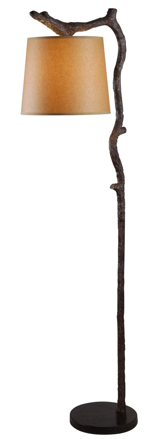 Kenroy Home 32452BRZD Overhang Floor Lamp Bronze