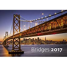 Modern Art Calendar - Calendars 2016 - 2017 Calendar- Architecture Calendar - Poster Calendar - Photo Calendar - Bridges By Helma
