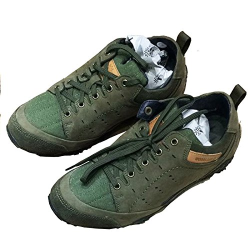 1a3cc4230bcb6 Metro shooz Men Woodland Men s Leather Sneakers Green Color -7  Buy Online  at Low Prices in India - Amazon.in