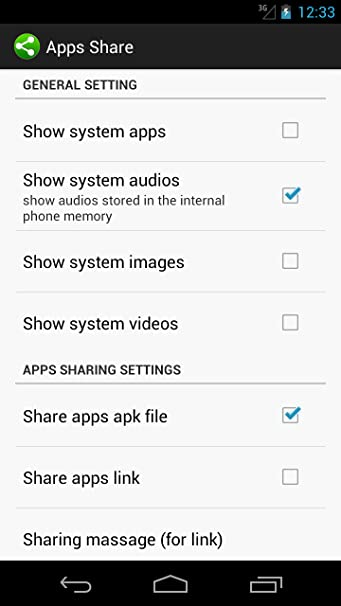 Share cloud (Apps and Files)