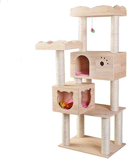 Gato juega torre del árbol, Gato trepador for gatos Arena for ...